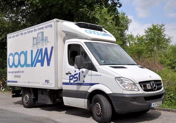 Truck 3.5 t Cool van